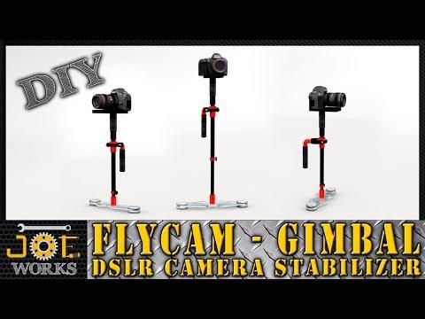 Haz tu propio FlyCam (Gimbal) en PVC estabilizador de cámara - DIY | JOE Works