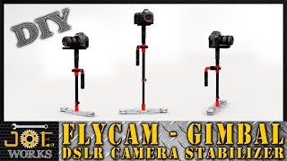 Video DIY: Make your own FlyCam (Gimbal) in PVC camera stabilizer.   JOE Works download MP3, 3GP, MP4, WEBM, AVI, FLV Oktober 2018