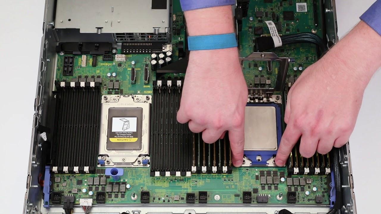 Dell EMC PowerEdge R6415, R7415, and R7425: Remove/Install Processor and  Heatsink Module by Dell Quick Resource Locator