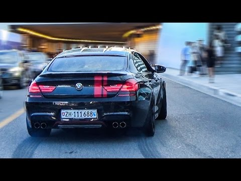 BMW M6 COMPETITION Gran Coupe - POWERSLIDES & ACCELERATION!
