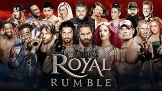 WWE ROYAL RUMBLE 2017 FULL 30 MAN MATCH 1080P QUALITY