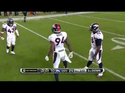 NFL - Super Bowl 50 - Denver Broncos 24 x 10 Carolina Panthers - Melhores Momentos