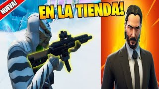 NEW TECHNICAL ASSAULT + SKIN FUSIL FROM JOHN WICK in FORTNITE 🔥😱