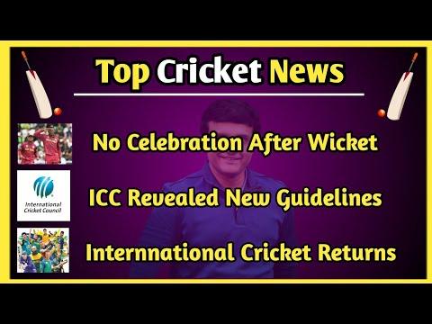 Cricket News : Top Cricket News Of 27 May 2020   Cricket Top News   ICC