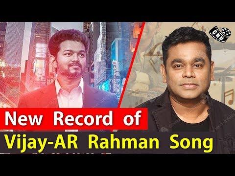 Thalapathy Vijay AR Rahman Combination Song to Reach Biggest Milestone | Sarkar Single | Mersal thumbnail