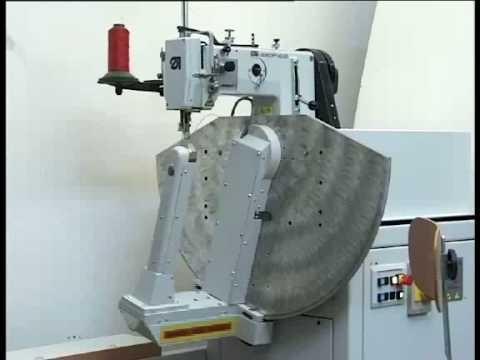 Maquina de coser cometa vbo40 para bolsos youtube for Maquinas de coser zaragoza