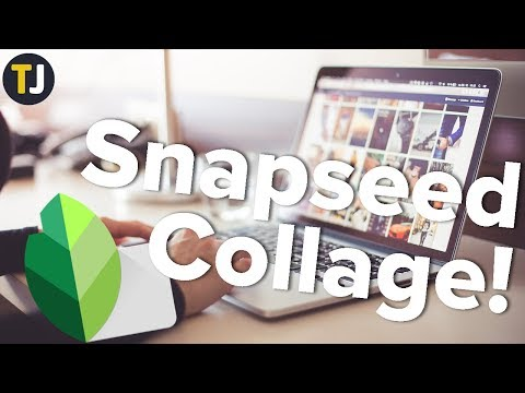 How To Make A Photo Collage With Snapseed!