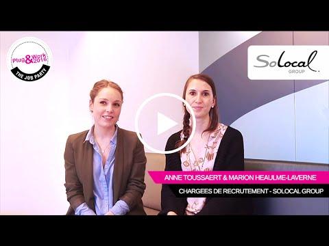 L'interview RH D'Anne Toussaert & Marion Héaulme-Laverne De SoLocal Group