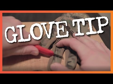 Hunting Gloves — Snip The Tips!