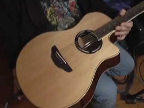yamaha apx500 ii acoustic electric guitar unboxing and demonstration youtube. Black Bedroom Furniture Sets. Home Design Ideas