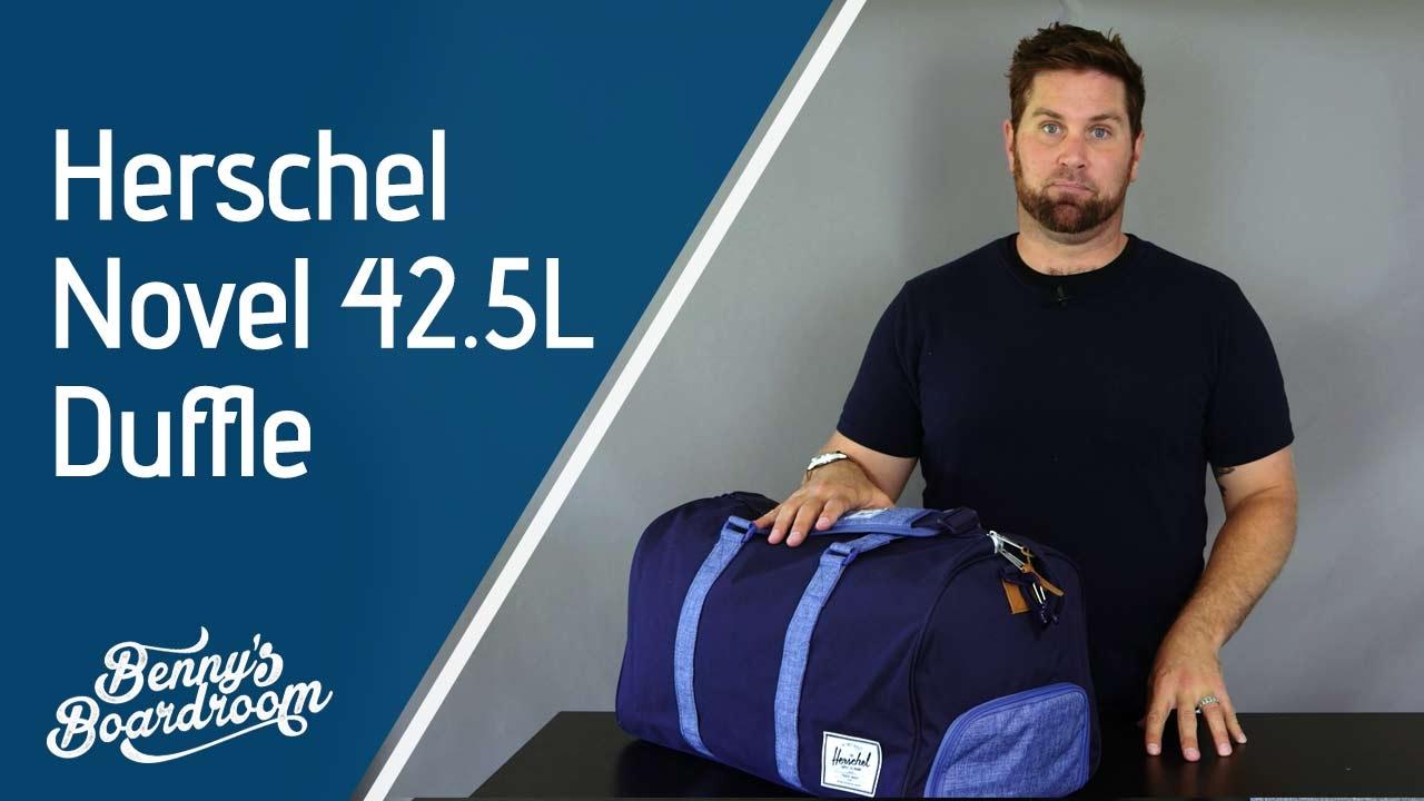 e0a7c20d0f8 Herschel Novel 42.5L Duffle Bag Walkthrough - Benny s Boardroom - YouTube