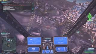 Planetside 2 - Reaver - M20 mustang against infantry