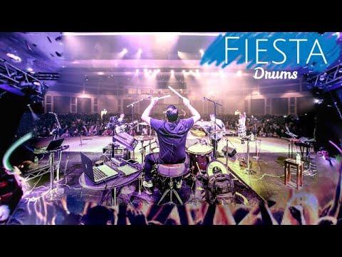 Fiesta En Vivo, Drums. Usar 🎧