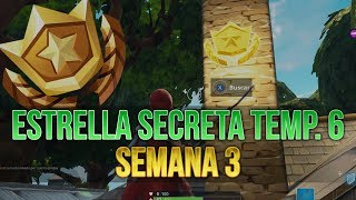 Fortnite ? Secret Battle Pass/Hunting Party Star Season Challenges 6 Week 3