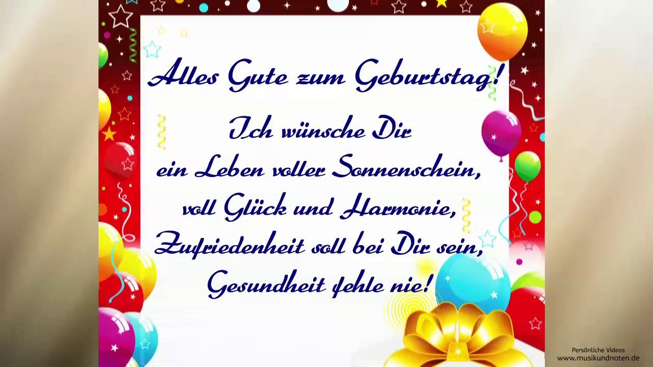 Geburtstag Geburtstagswünsche Glückwünsche Zum Geburtstag