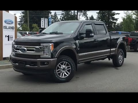 2018 Ford Super Duty F-350 King Ranch FX4 Technology Ultimate Diesel V8 CrewCab Review| Island Ford