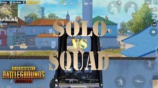 SOLO VS SQUAD. SENSASI HP KENTANG!!!