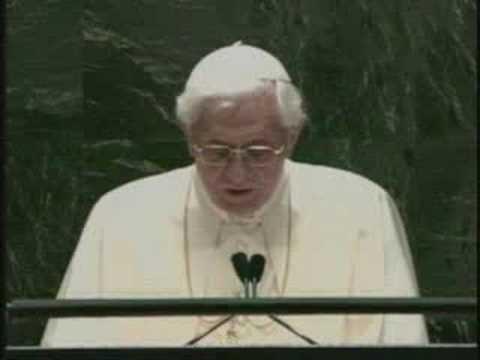 Pope addresses UN leaders
