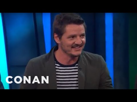 Pedro Pascal Wishes He Was Justin Timberlake  - CONAN on TBS
