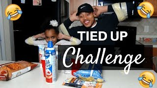 TIED UP CHALLENGE!!