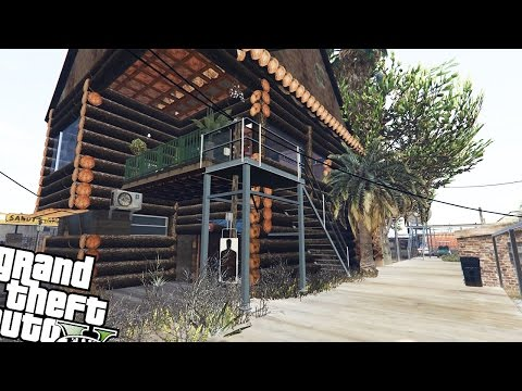 Trevor's Log House | Gta 5 Mod Showcase