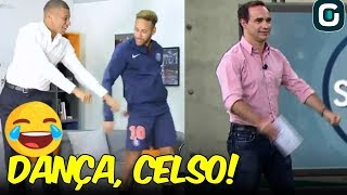 NEYMAR and MBAPPE do FORTNITE Dance | Celso Cardoso can imitate?? (11/01/19)