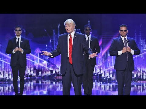 Donald Trump is WINNING Over the Hearts of These Judges   America's Got Talent 2017