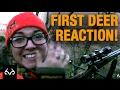 Deer Hunting: Woman Has Great Reaction to Killing Her First Deer
