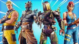 TOUS LES NOUVELLES fuites skins in Fortnite Battle Royale! (New Fortnite Skins et Emotes)