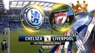 FIFA 14 PS4 Liverpool Career Mode #126 Top vs 2nd! HUGE Game vs CHELSEA!