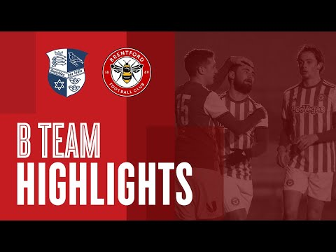 Match Highlights: Wingate and Finchley 2 Brentford B 3