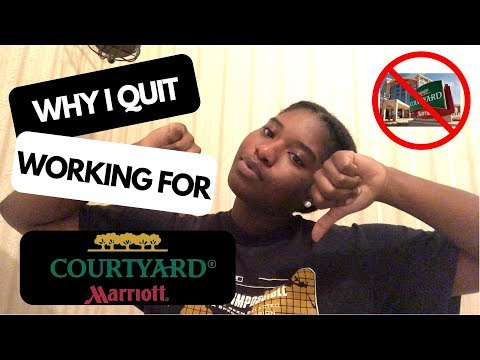 WHY I QUIT WORKING FOR THE MARRIOTT 😭👎🏾 | MY EXPERIENCE WORKING THERE 😪 |