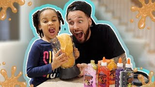 Making Slime in a BLENDER!!