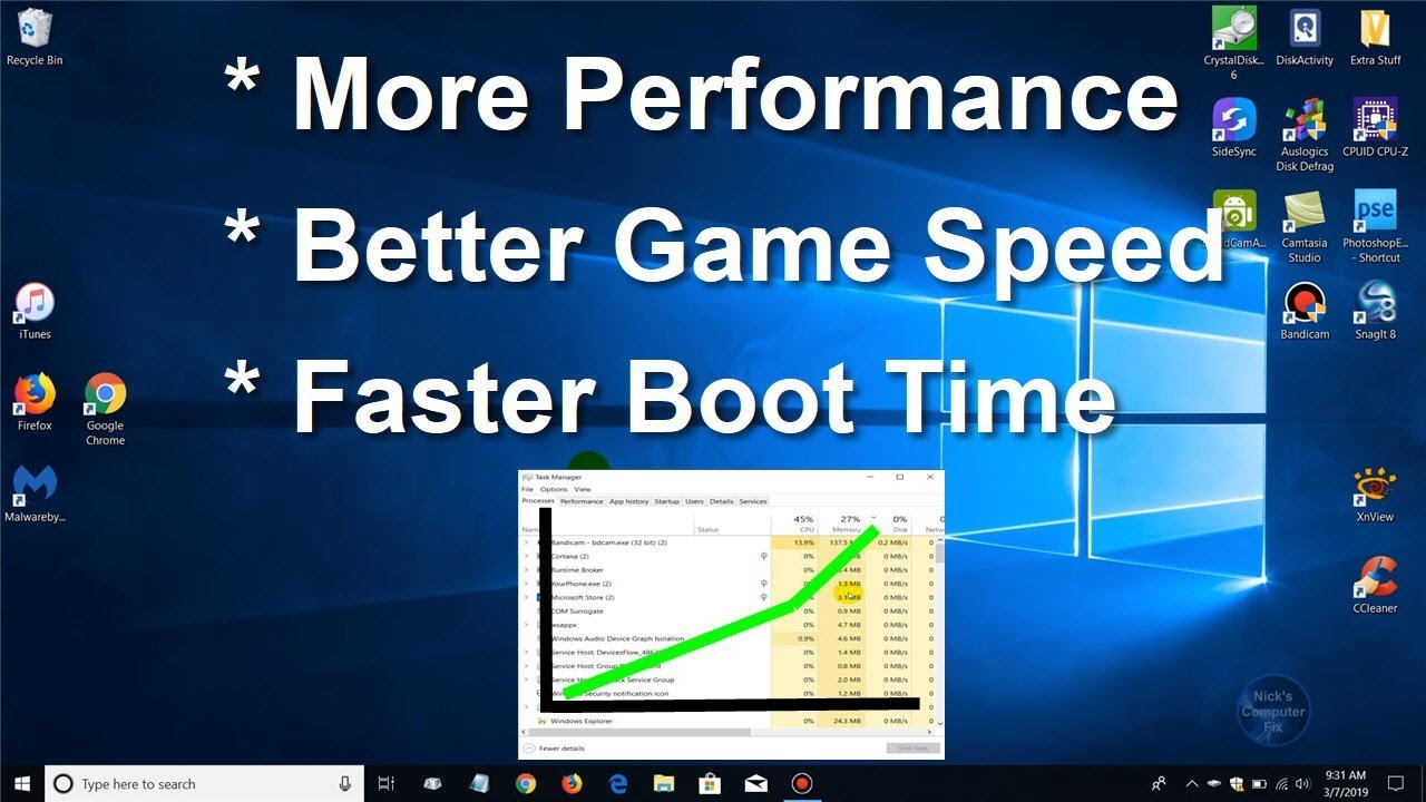 How to Speed Up your Windows 10 (Faster Performance)! and make your PC  Faster!