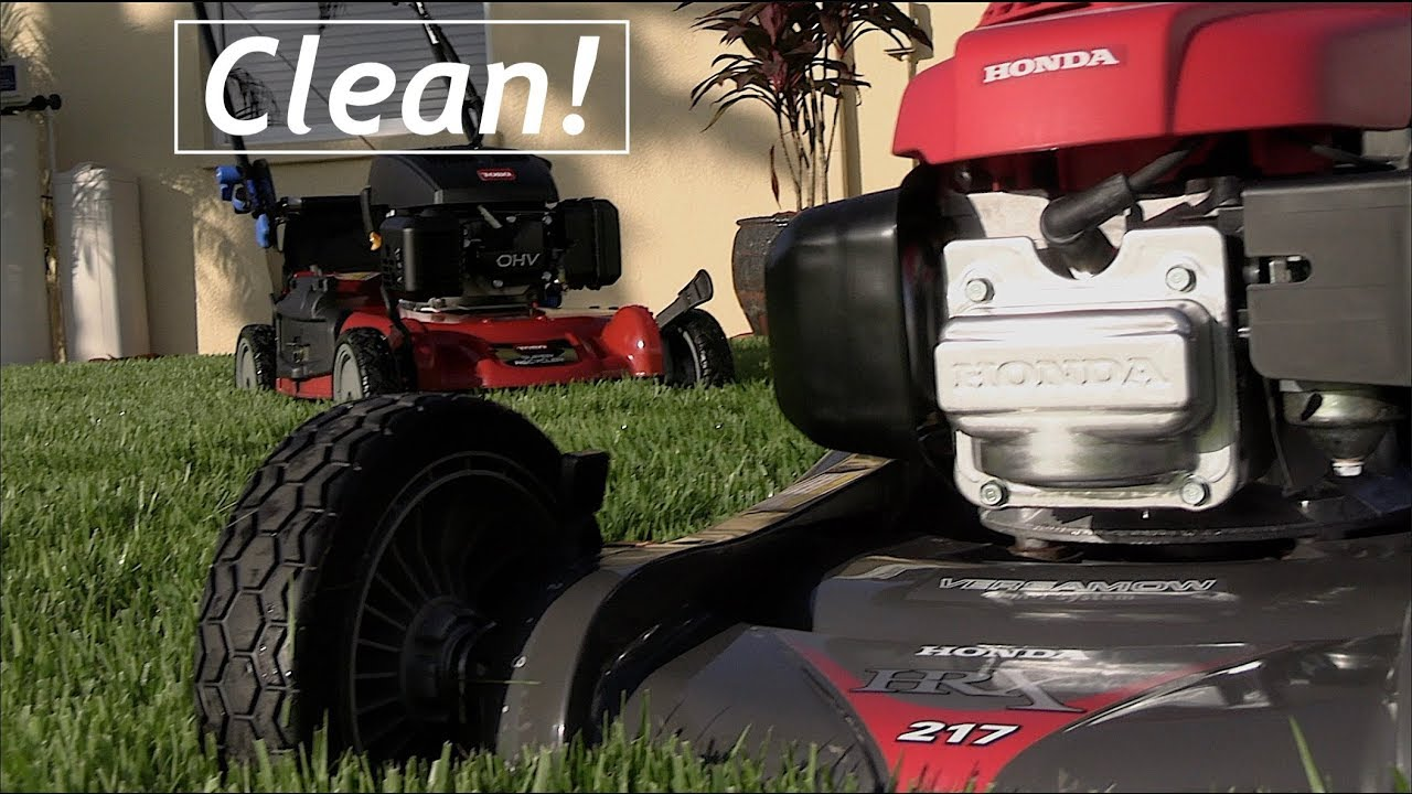 By Request: [Washing My Lawn Mowers] Plus T-Shirt Giveaway
