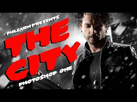 How to make a Sin City Portrait in Photoshop (Part 1)