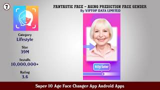 Super 10 Age Face Changer App Android Apps screenshot 5