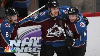 NHL Stanley Cup Playoffs 2019: Flames vs. Avalanche | Game 4 Highlights | NBC Sports