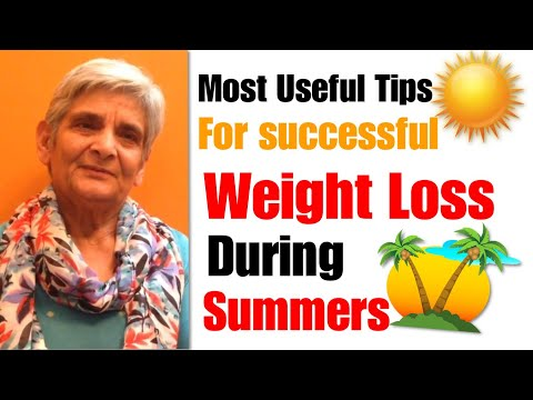How to successfully Lose Weight and fat in Summers   Useful Weight loss tips that works