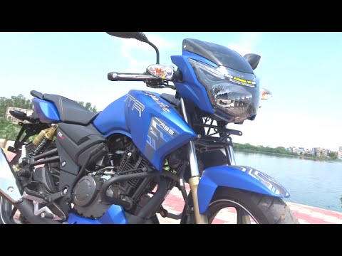 #Bikes@Dinos: TVS Apache RTR 180 ABS Review, ABS Demo, Walkaround (3 colours)