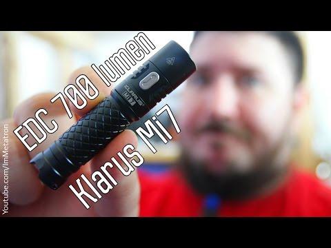 Klarus Mi7 700 Lumen - новый EDC фонарь
