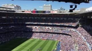Himno Real Madrid 25 aniversario de la muerte de Juanito
