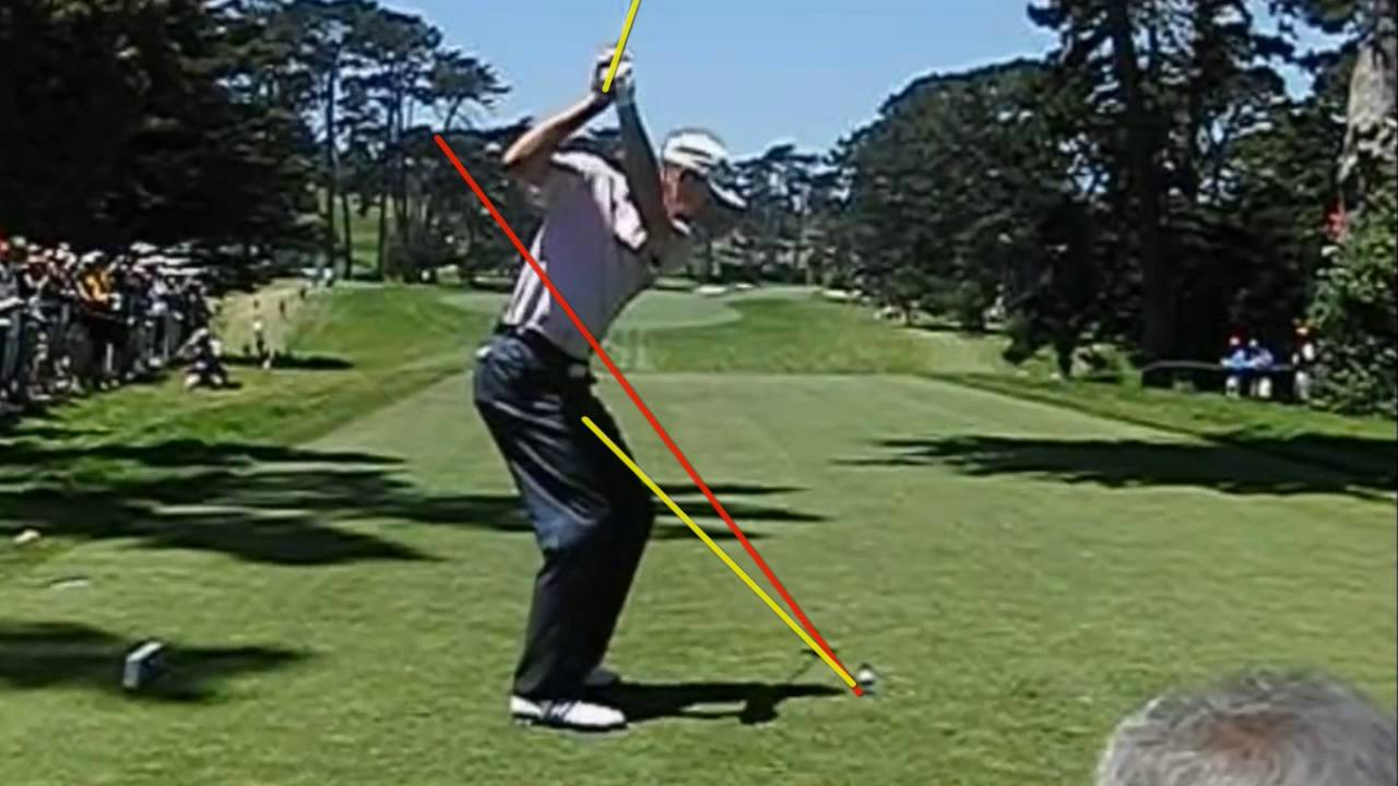 Beginners how to swing a golf club - Golf simple plane ...