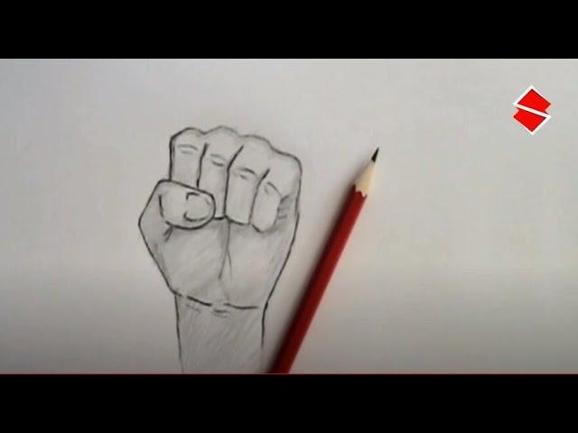 جديد تعلم رسم قبضة اليد بطريقة سهلة Youtube