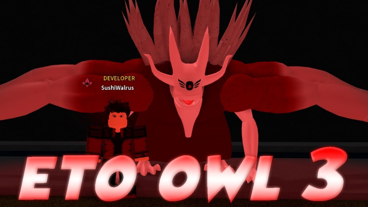 ETO OWL THIRD FORM *EARLY ACCESS* SHOWCASE IN RO-GHOUL!! | 1V1 WITH THE  OWNER | Roblox
