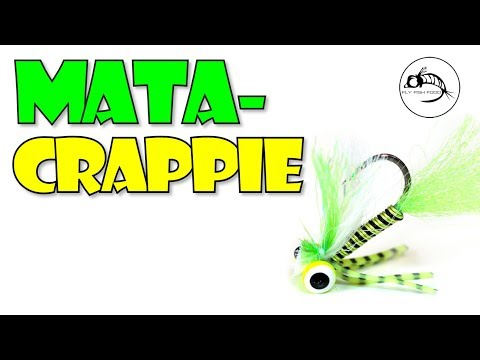 Mata-Crappie - Bluegill And Crappie Fly Pattern