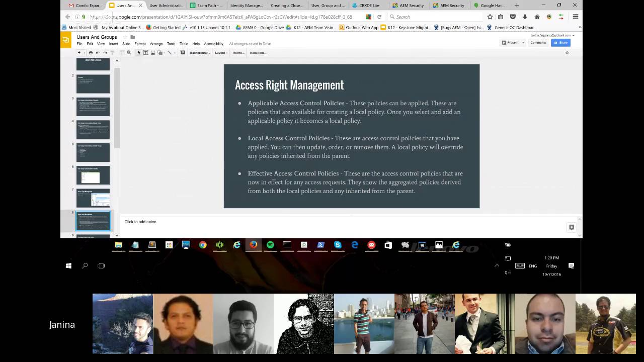 Aem 6 Certification Users And Groups Youtube