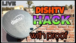 HOW HO HACK DISHTV WITHOUT RECHARGE 100