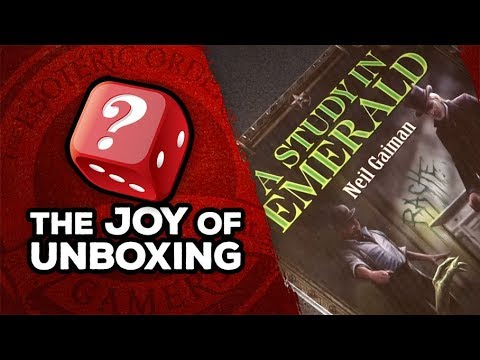 The Joy of Unboxing: A Study in Emerald