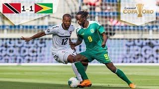 Se despiden de Copa Oro con empate | Trinidad y Tobago 1 - 1 Guyana | Copa Oro | Televisa Deportes